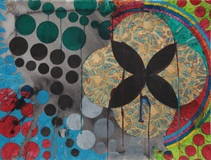 Close Orbit by Max Gimblett contemporary artwork