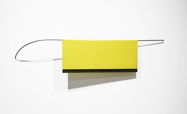 Yellow Green by Helen Calder contemporary artwork