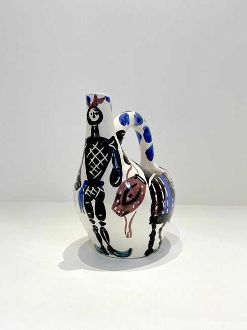 Cavalier et cheval by Pablo Picasso contemporary artwork