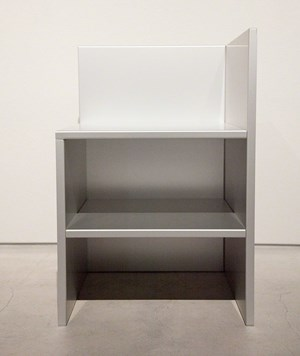 Corner Chair 15 by Donald Judd contemporary artwork