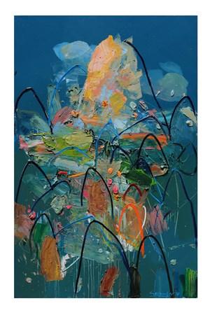 Matahari Pagi (Morning Sun) by Erizal As contemporary artwork