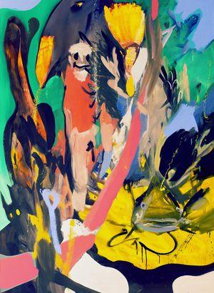 Casanova by David Lehmann contemporary artwork painting, works on paper