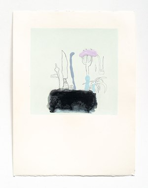 Little Prick (Tabled) by Marie Le Lievre contemporary artwork