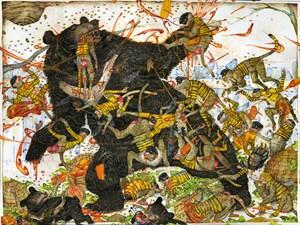 Honey Bear by Mu Pan contemporary artwork