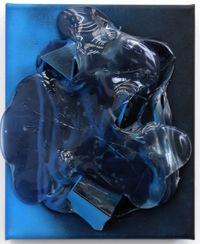Blue Light by Judy Darragh contemporary artwork mixed media