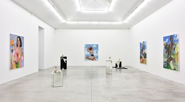 Contemporary art exhibition, Chloe Wise, Of false beaches and butter money at Almine Rech, Rue de Turenne, Paris