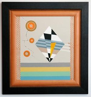 Blok Plastic Kite by Diena Georgetti contemporary artwork