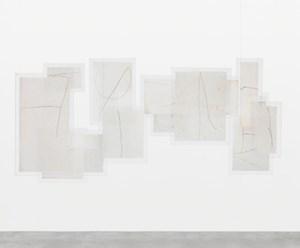 Variantes II (Variants II) by Mira Schendel contemporary artwork