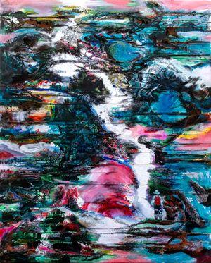山的語言 Mountain Language by Suling Wang contemporary artwork