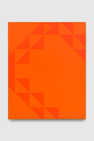 To Be Titled (Cadmium Orange II) by Mark Hagen contemporary artwork