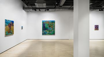 Contemporary art exhibition, Todd Bienvenu, Halcyon Days at Almine Rech, Shanghai