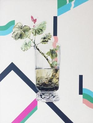 Wire Vase by Dane Lovett contemporary artwork