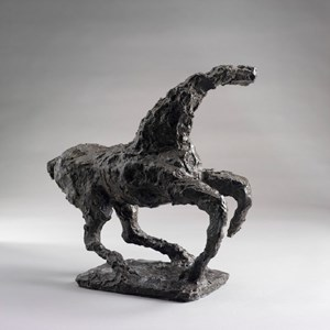 Horse Running by Hsiung Ping-Ming contemporary artwork