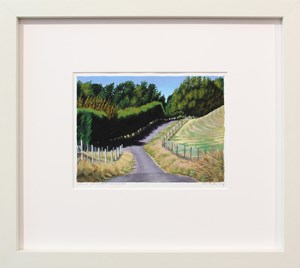 Second Haumoana Driveway by Dick Frizzell contemporary artwork
