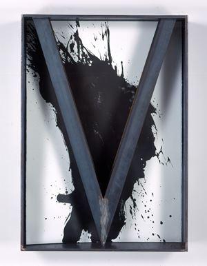UNTITLED (I-BEAM) by Jannis Kounellis contemporary artwork