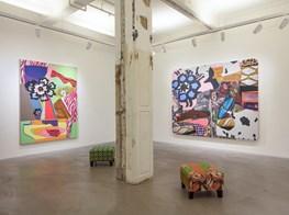 "Mickalene Thomas<br><em>the desire of the other</em><br><span class=""oc-gallery"">Lehmann Maupin</span>"