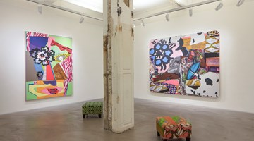 Contemporary art exhibition, Mickalene Thomas, the desire of the other at Lehmann Maupin, Hong Kong