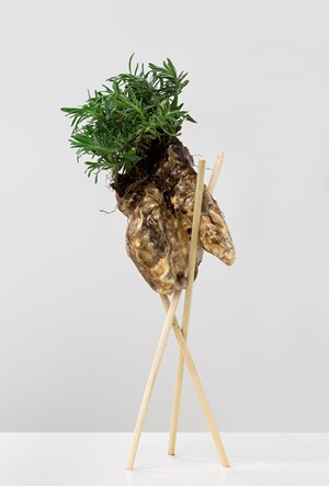 Bud Vase (Earth Top) by Christian Holstad contemporary artwork