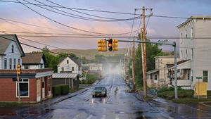 Alone Street by Gregory Crewdson contemporary artwork