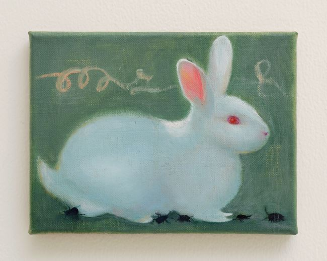 Rabbit by Tao Siqi contemporary artwork