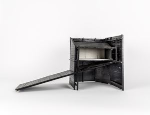 House No. 2 (one bedroom house) by Siah Armajani contemporary artwork