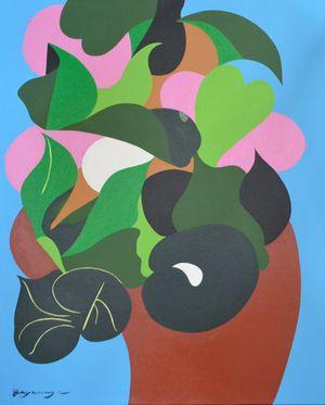 The Tree of Life by Go Yayanagi contemporary artwork