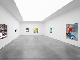 "Walter Swennen<br><em>Un Cœur Pur</em><br><span class=""oc-gallery"">Xavier Hufkens</span>"