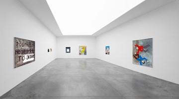 Contemporary art exhibition, Walter Swennen, Un Cœur Pur at Xavier Hufkens, St-Georges, Brussels