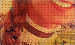 Le sourire Rama by Mimmo Rotella contemporary artwork