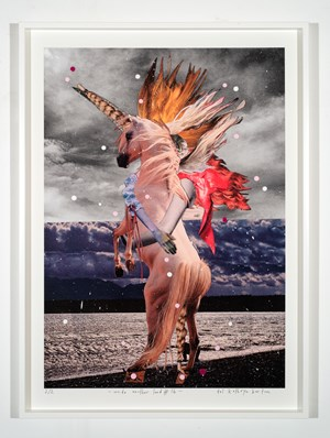inside another land #16 by Del Kathryn Barton contemporary artwork