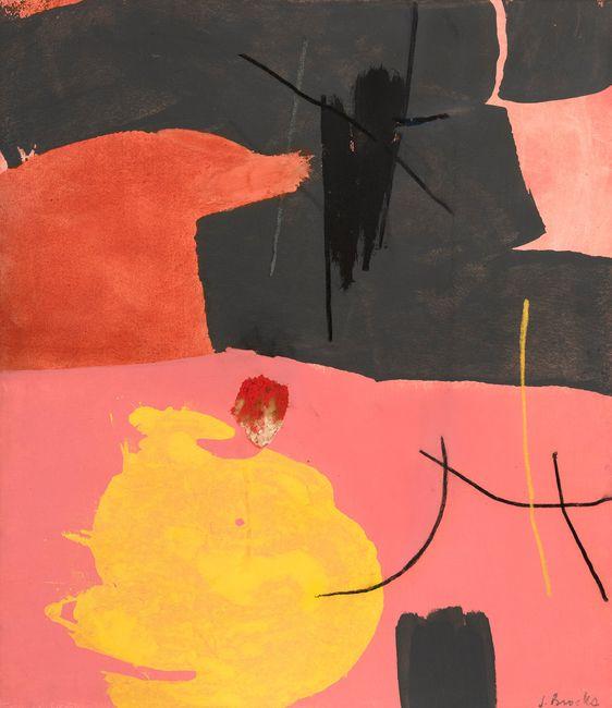 Lurry by James Brooks contemporary artwork