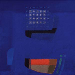 IN BLUE Aug '05 by Katsuyoshi Inokuma contemporary artwork painting, mixed media