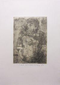 Untitled by Marwan contemporary artwork print