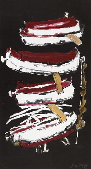 Treasure Ware by Wei Ligang contemporary artwork painting, works on paper, drawing