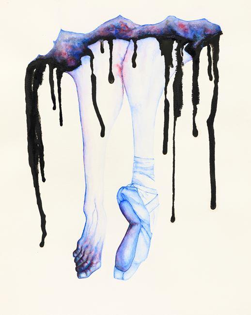 Blue by Grace Schwindt contemporary artwork