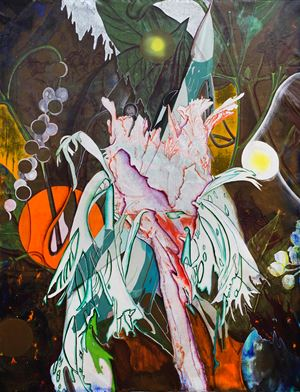 Staghorn Fern, Fighter Jet, Pepper by Hsieh Mu-Chi contemporary artwork