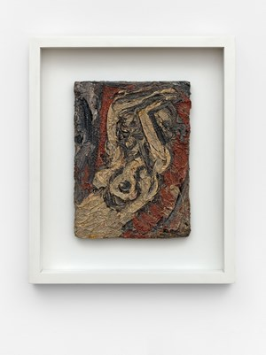 Fidelma with Raised Arms by Leon Kossoff contemporary artwork