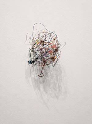 Bola de cable (Precarios) by Cecilia Vicuña contemporary artwork