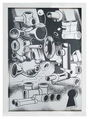 Hard Boiled Daydream ( Collage Roman ) #3 水煮白日夢(羅馬拼貼)#3 by Teppei Kaneuji contemporary artwork