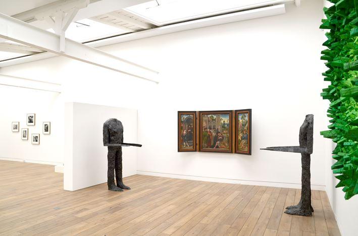 Exhibition view: Group Exhibition,Corpus, Beck & Eggeling International Fine Art, Düsseldorf (30 June–1 September 2018). Courtesy Beck & Eggeling International Fine Art.