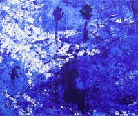 Double Fly Klein Blue 9 by Double Fly Art Center contemporary artwork painting