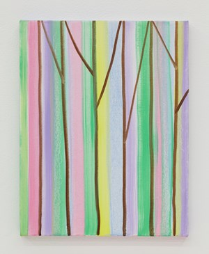 Pastel Forest by Benjamin Butler contemporary artwork