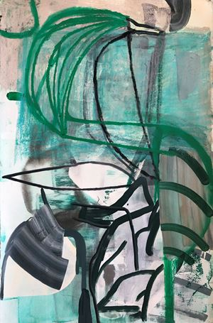 Untitled by Amy Sillman contemporary artwork