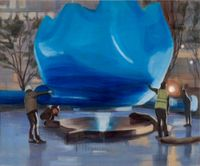 Public Sculpture 02 by Jina Park contemporary artwork painting
