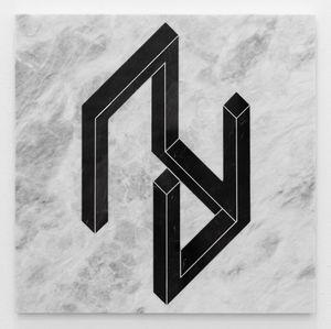 Open Cube/ After LeWitt 5 by Hamra Abbas contemporary artwork