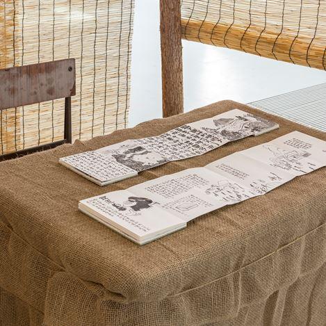 Exhibition view: Anusman, Market Street, Tabula Rasa Gallery, Beijing (16 March–4 May 2019). Courtesy Tabula Rasa Gallery.