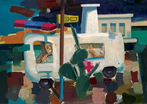 Ambulance by Antonio Cosentino contemporary artwork