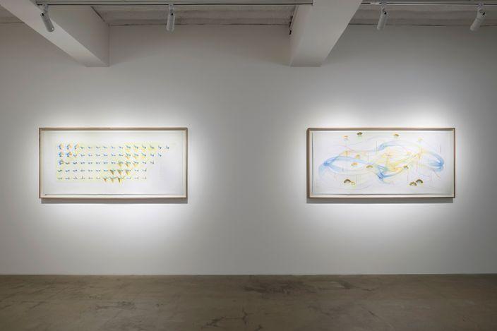 Exhibition view:Jorinde Voigt, RESONANCE, KÖNIG GALERIE, Seoul (8 May–6 June 2021). CourtesyKÖNIG GALERIE.