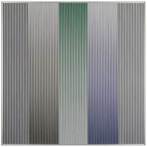 Physichromie 1841 by Carlos Cruz-Diez contemporary artwork
