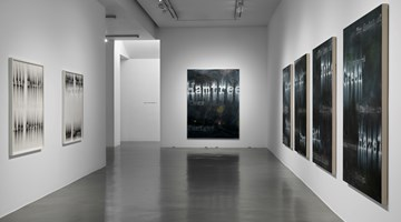 Contemporary art exhibition, Gary Simmons, Green Past Gold at Simon Lee Gallery, London